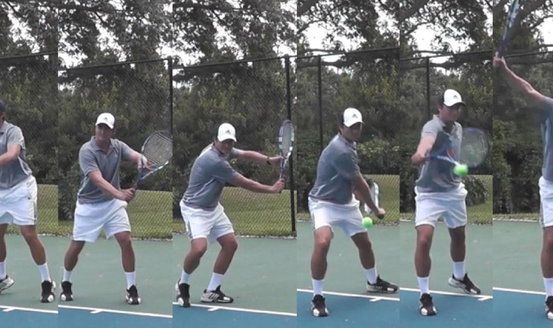 The One Handed Backhand Groundstroke