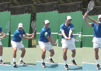 The Two Handed Backhand Groundstroke