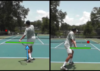 Hitting The Ball Inside Out – Left Handed Version