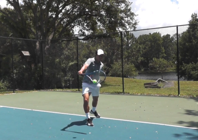 Backhand One Handed